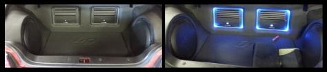 Custom Car Amplifier Installation